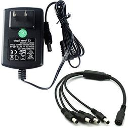 AC 100-240V to DC 12V 2A 2000mA Power Supply Adapter Switchi
