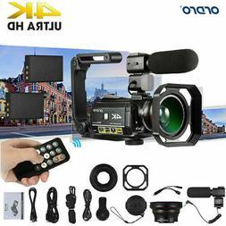 ORDRO AC3 4K 24MP WiFi Digital Video Camera Camcorder DV Rec