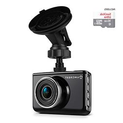 """Amcrest ACD-830B Dash Camera 1080P 3"""" LCD Car DVR with 16GB"""