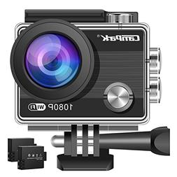 Campark ACT68 Action Camera Waterproof Camera WiFi 4K & FHD