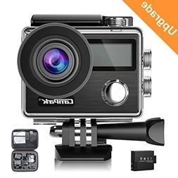 Campark X20 4K 20MP Waterproof Action Camera for Travel with