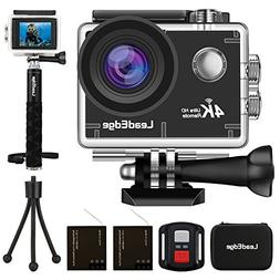 LeadEdge LE6000 Action Camera 4K EIS Anti-Shake WiFi 16MP Sp