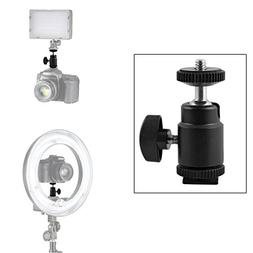 Hot Shoe Adapter 360 Degree Mini Ball Head Hot Shoe Mount wi