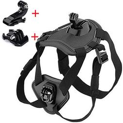 Walway Adjustable Dog Harness Chest Mount for GOPRO HERO 6/