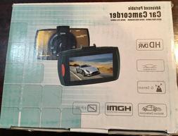 ADVANCED PORTABLE CAR VIDEO CAMERA CAMCORDER HD G-SENDOR - M