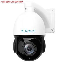 Inesun 2MP AHD PTZ Security Camera 18X Optical Zoom HD 1080p