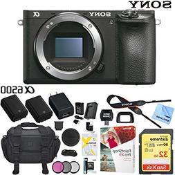 Sony Alpha a6500 Mirrorless Digital Camera 24.2MP  Body Only