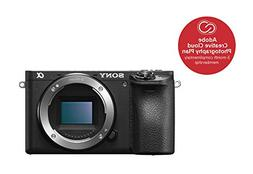 s0ny Alpha A6500 Body Only Digital Mirrorless Cameras - Blac