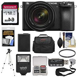 Sony Alpha A6500 4K Wi-Fi Digital Camera & 18-135mm Lens wit