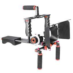 Neewer Aluminum Alloy Film Movie Kit System Support Rig for