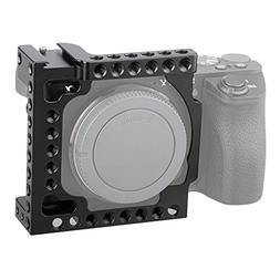 CAMVATE Aluminum Camera Cage for Sony A6500, A6000,A6300,ILC