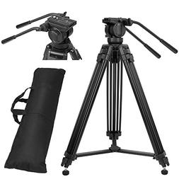 ZoMei Professional Aluminum Camera Video Tripod With 360-Deg