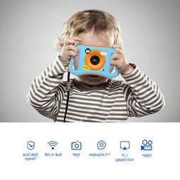 Amkov WiFi Kids Children Video Camera HD Educational Christm