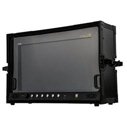 "Ikan Atlas Monitor with Hard Case, 20"", Black"