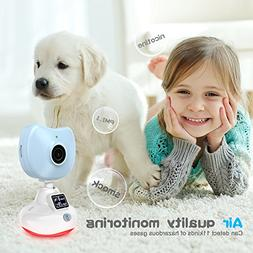 720P Baby Monitor, miSafes Mini Wireless Security Camera Nan
