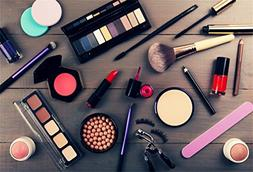 CSFOTO 5x3ft Background for Makeup Products Photography Back