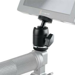 SmallRig Ballhead Monitor Holder with Cold Shoe Mount for Vi