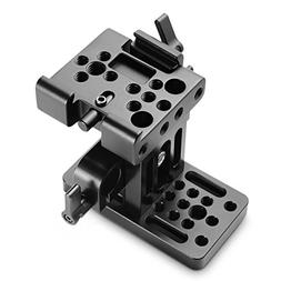 SMALLRIG 15mm Rail Riser Support System Baseplate for Manfro