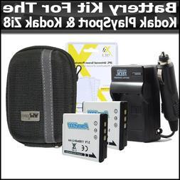 Battery Kit For Kodak PlaySport  Kodak Zi8, PlayFull Dual  P