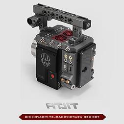 BLACK TILTA ESR-T01-A RED Camera Rig + DSMC2 Base I/O EXPAND