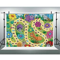 Board Game Photo Background Parties Paper Various Kinds of A