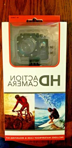 Momentum Brands HD Action Camera 1080P with accessories from