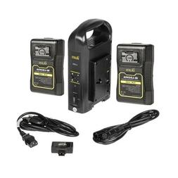 Ikan C-2KIT-95A Dual Pro Battery Charger with 2x 95Wh Gold M