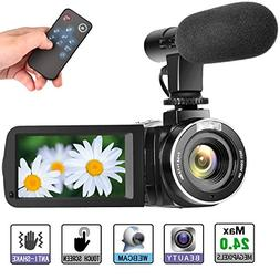 Camcorder Digital Video Camera, Digital Camera Full HD 1080P