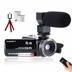 Cofunkool Camcorder 1080P 26Mp Video Camera Wifi Vlogging Ca