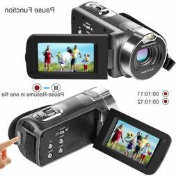Camcorder Besteker 1080P HD Video Camera YouTube Vlogging Ca