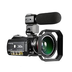 Camcorder 4K, Ordro 4K Ultra-HD Digital Video Camera with Ex