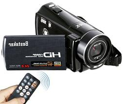 Video Camcorder, Besteker FHD 1080P 24MP Digital Video Camer