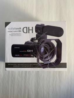 Video Camcorder,Ansteker Remote Control WiFi Video Camera Fu