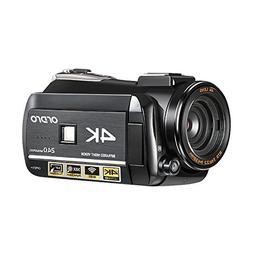 4K Camcorder, Ordro 4K Ultra-HD Digital Video Camera / IR Ni