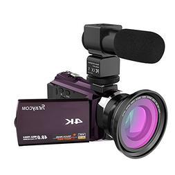 Video Camera Camcorder,4K Rraycom Ultra HD Digital WiFi Camc