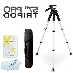 57 Camera/ Camcorder Tripod w/Case For Olympus SH-50iHS, TG-