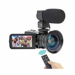 Camcorder Video Camera Kimire HD 1080P 16X Powerful Digital