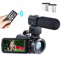 camcorder video camera hd 1080p 24mp wifi