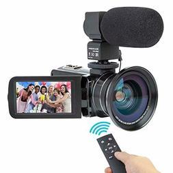 Camcorder Video Camera Kimire HD 1080P 16X Powerful Digital