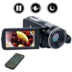 Camcorder Video Camera Full HD Digital camera 1080P 24.0MP V