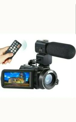 Camera Camcorder Besteker HD 1080P 24MP 30FPS  Digital w/Mic