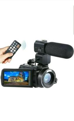 Camera Camcorder, Besteker Remote Control WiFi Video Camcord
