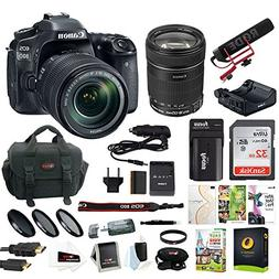 Focus Camera Canon EOS 80D Video Creator Kit with 18-135mm L