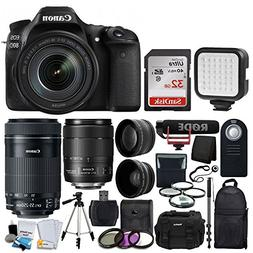 Canon EOS 80D Video Creator Kit DSLR Camera with 18-135mm Le