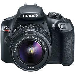 Canon EOS Rebel T6 Digital SLR Premium Kit, EF-S 18-55mm and