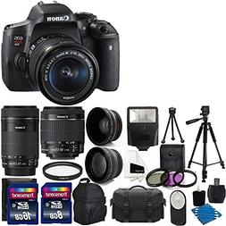 Canon EOS Rebel T6i 24.2 MP Digital SLR Camea Full HD Movie