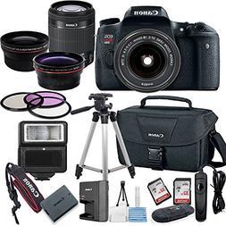 Canon EOS Rebel T6S Digital SLR Camera with EF-S 18-55mm Bun