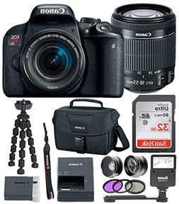 Canon EOS Rebel T7i Digital Camera: 24 Megapixel 1080p HD Vi