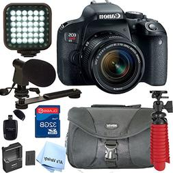 Canon EOS Rebel T7i DSLR Video Kit with 18-55mm Lens, Video