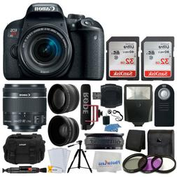 Canon EOS Rebel T7i DSLR Camera with 18-55mm Lens Video Crea